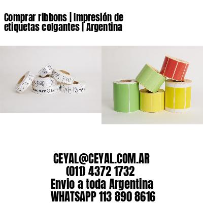 Comprar ribbons | Impresión de etiquetas colgantes | Argentina