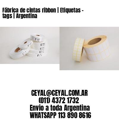 Fábrica de cintas ribbon | Etiquetas - tags | Argentina