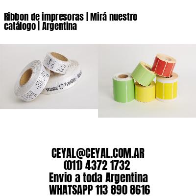 Ribbon de impresoras | Mirá nuestro catálogo | Argentina