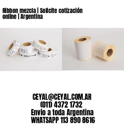 Ribbon mezcla   Solicite cotización online   Argentina