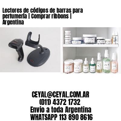 Lectores de códigos de barras para perfumería | Comprar ribbons | Argentina